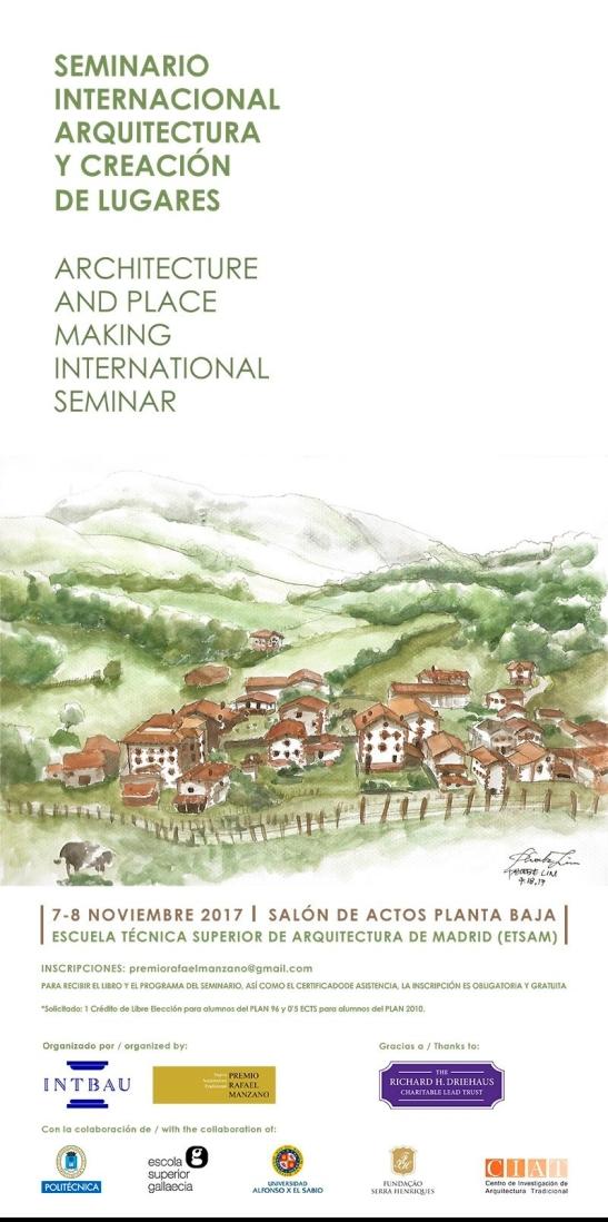 Seminario Internacional arquitectura y creación de lugares
